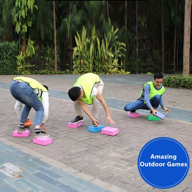 Fun Toy Outdoor Games Blocks Sport Toys Eva Foam Bricks Parents