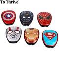 Real 6000mAh Power Bank Portable Marvel Super Hero Vengeance Alliance Captain Charger for Cellphones