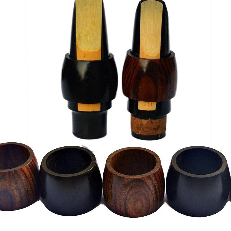 Ébano clarinete boquilla abrazadera alto saxofón reed clip clarinete Reed tarjeta instrumento abrazadera clarinete/Gota e alto sax