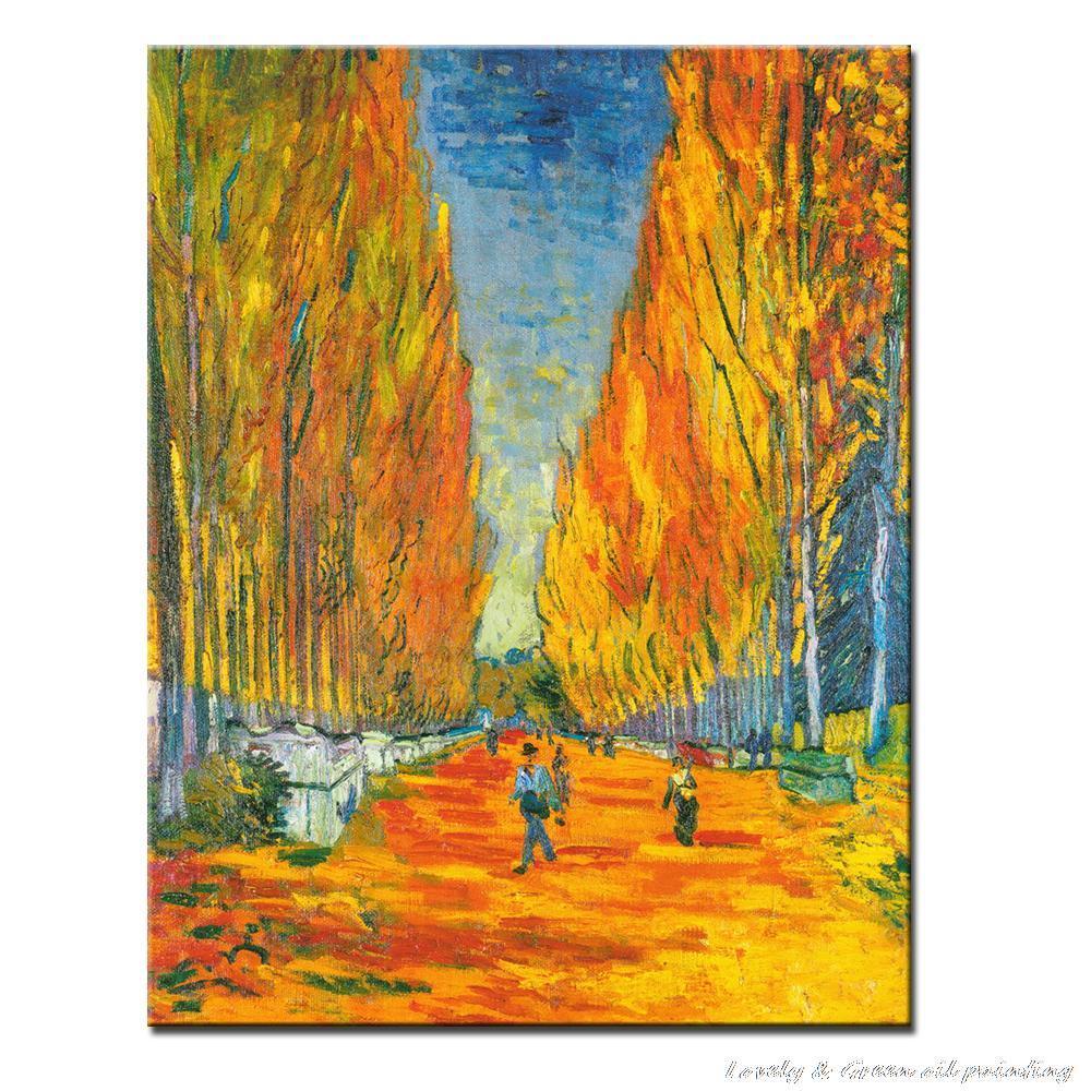 Handpainted High Q Vincent Van Gogh Reproduction Oil Painting Les