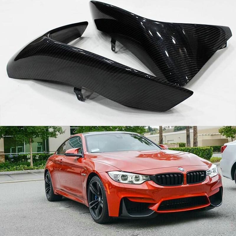 M3 M4 Performance style Carbon Fiber front bumper splitter lip for BMW F82 M4 F80 M3 2014-2016