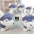 36 см 43 см 50 см 60 см 75 см Горячая Продажа Нового Прибытия Хаски Плюшевые Игрушки Моделирование Собака Ребенка спящая Кукла Дети Подарки На День Рождения