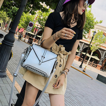 Casual Tote Fashion Women Messenger Top-Handle Purse