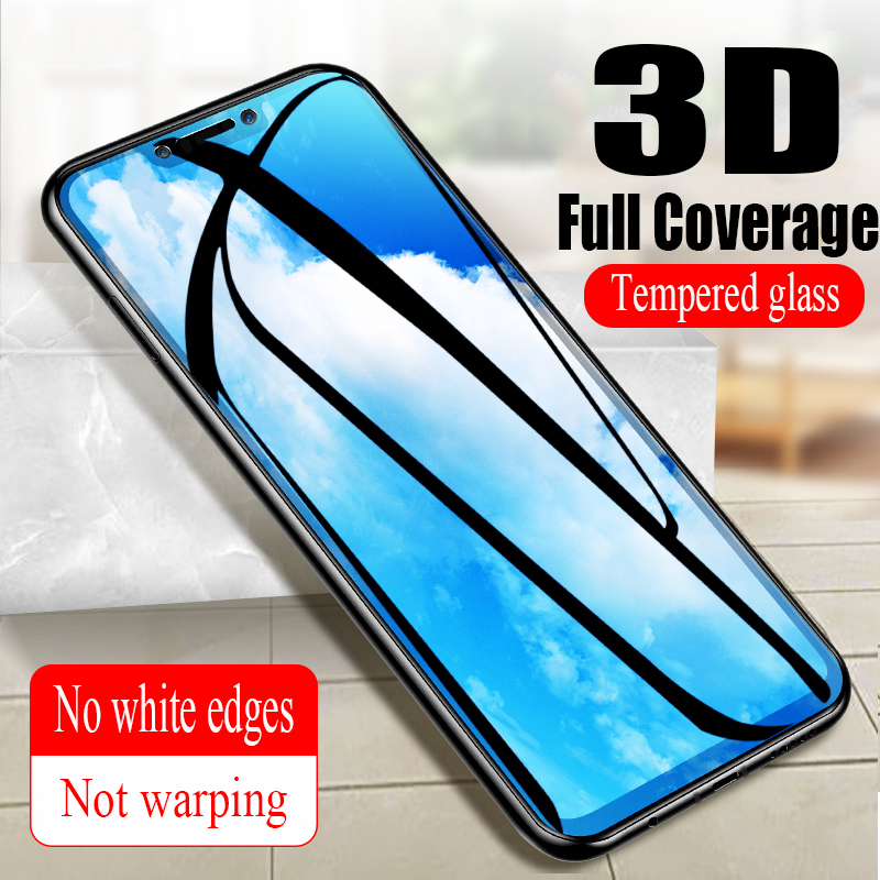 3D Glass for Huawei Nova 3 Protective Glass on the for Nova 3i Full Cover Curved Phone Screen Protector for Huawei Nova 3e Glass in Phone Screen Protectors from Cellphones Telecommunications