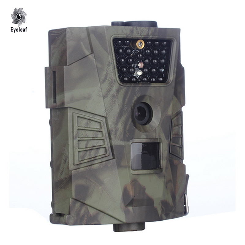 HT001 Hunting Trail Camera Waterproof Motion Camera 1080P Wild Hunter Cam Game Wildlife Cameras Trap Camcorder Hunting Camera surveillance camera hunting mms gsm gprs camera 12mp 1080p motion detector for animal trap forest outdoor hunter camera