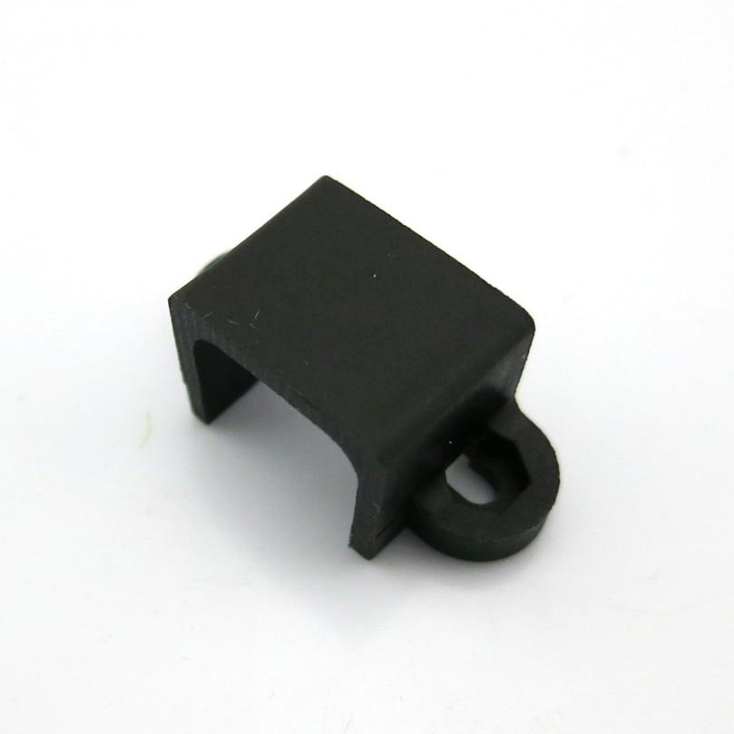 10Pcs N20 Plastic Black Motor Fixed Seat With Screw DIY Motor Mounting Bracket Holder