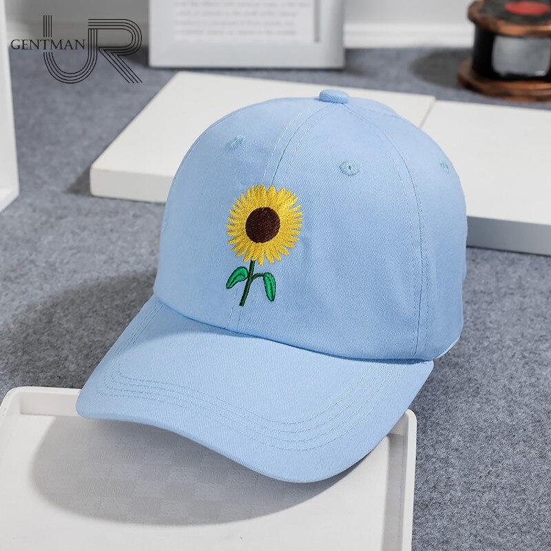 Nueva moda girasol bordado gorras de béisbol de algodón Snapback sombreros  para hombres mujeres ajustable Cap pareja en Gorras de béisbol de Deportes  y ocio ... 9cd293c6e5d