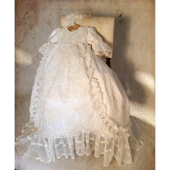 Popular Vintage Baptism Dress-Buy Cheap Vintage Baptism Dress lots ...