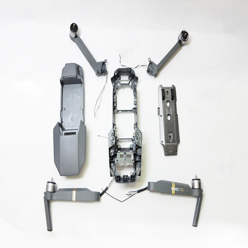 Brand New Original Repair Parts Body Shell for Dji Mavic Pro Upper/Middle/Bottom Shell Housing for Dji Mavic Pro Motor Arm dji phantom 4 pro body upper shell middle shell landing gear for phontom4 pro housing original accessories parts