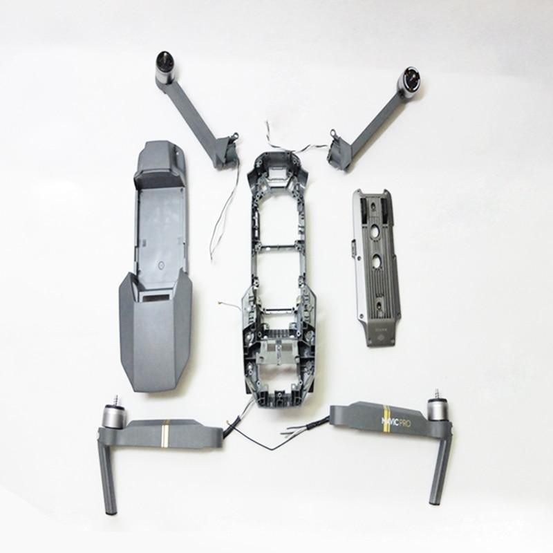 Nuevas piezas originales de reparación de la carcasa del cuerpo para Dji Mavic Pro carcasa superior/media/inferior para el brazo del Motor Dji Mavic Pro