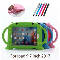 Case For Ipad 9 7 2017 New Modle Full Body Protective Silicone Tablet PC Cover Shell
