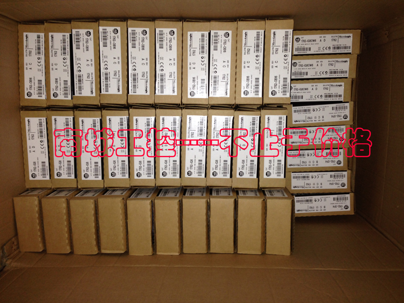 ALLEN BRADLEY 1762-IQ8,NEW AND ORIGINAL,FACTORY SEALED,HAVE IN STOCK allen bradley 1756 of8 1756of8 controllogix 8 pt a o i or v module new and original 100% have in stock free shipping