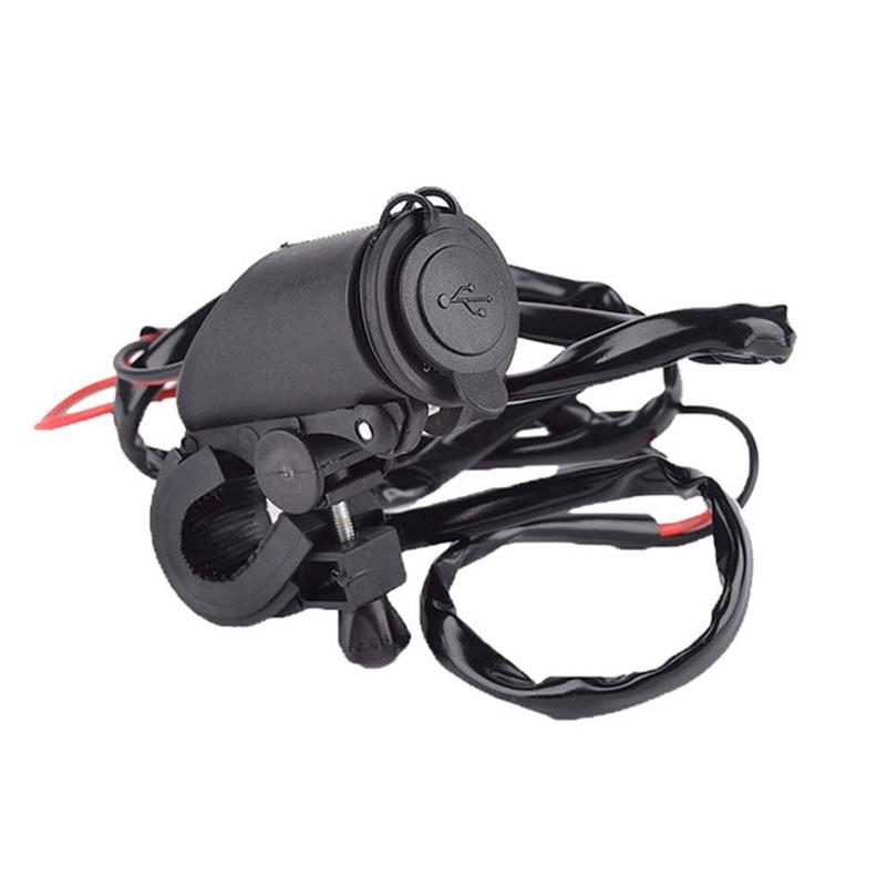Uus 12 ~ 24V veekindel mootorratas Dual USB laadija sigaretisüütaja - Autode Elektroonika - Foto 5