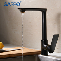 GAPPO Kitchen Faucets Kitchen Mixer Faucet Sink Tap Kitchen Water Mixer Wall Mounted Waterfall Sink Faucet