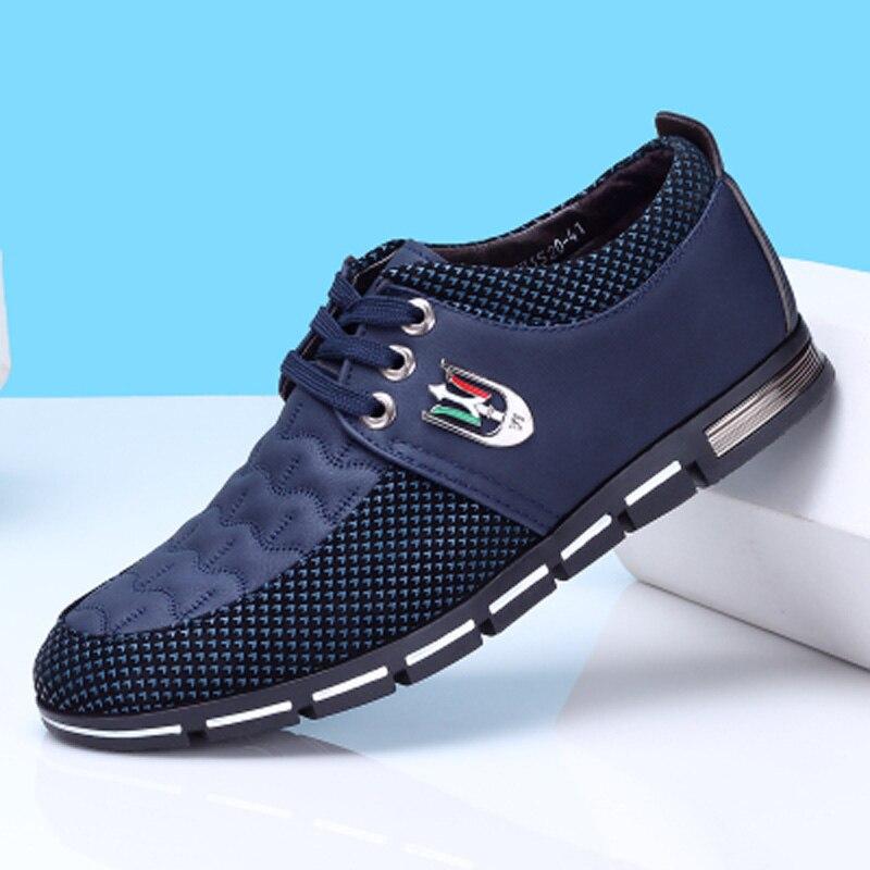 Belle Casual Hombre E31 blue Haute Homme Toile Mode Appartements Qualité Chaussures Laçage Respirant Automne Hommes Zapatos Printemps brown Black rFqZ67wRr
