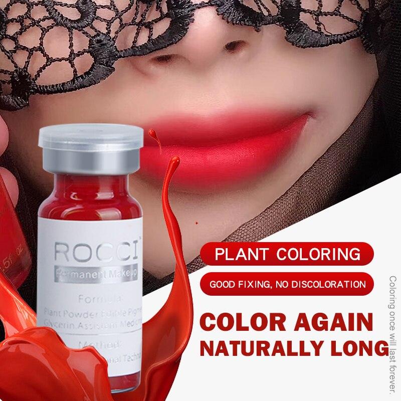 2 Pcs Sourcils Lèvres Tatouage Maquillage Permanent Encre De - Tatouages et art corporel - Photo 1