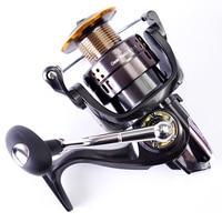 LJ7000 7000 Seires Hot Sale Carp Spinning Fishing Reel Metal Spinning Reel 12+1BB Boat Rock Fishing Wheel Aluminum Spool C0