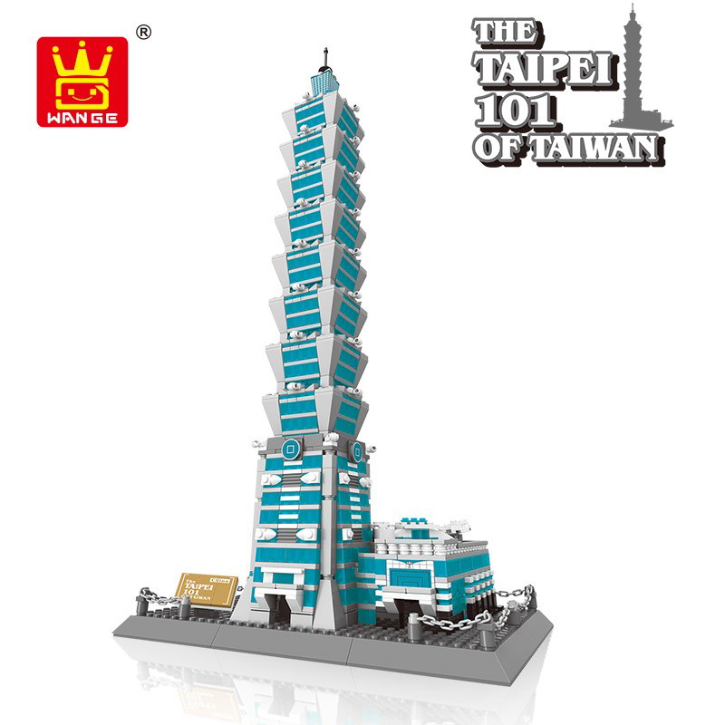 5221 Wange Architecture The Taipei 101 Model Building Blocks Enlighten Figure Toys For Children Compatible Legoe5221 Wange Architecture The Taipei 101 Model Building Blocks Enlighten Figure Toys For Children Compatible Legoe