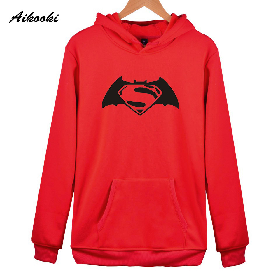 Sweatshirts Women/Men Hoodies Harajuku Batman Hoodie Men/Women Aikooki Casual Cotton Hoodies Men Sweatshirt Batman Hoodies