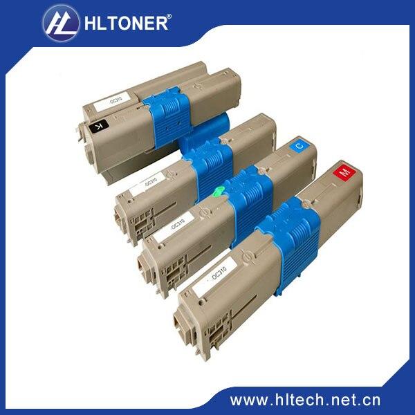 ФОТО 44469813 44469739 44469738 44469737 printer Toner Cartridges compatible OKI CX2731  cyan/magenta/black/yellow 4pcs/set