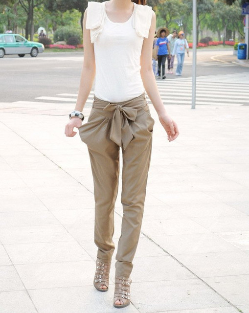 LADIES' fashion pants,WOMEN'S casual trousers fashion clothing wear Free Shipping W1232