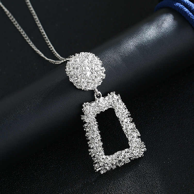 Exknl Long Women Pendant Necklace Colorful Vintage Necklaces & Pendants Fashion Accessories Cute Jewelry For Women Gift 2019