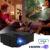 Original E08 Proyector LED A Todo Color de 1200 Lúmenes 1080 P con HDMI VGA USB Controlador Remoto para NoteBook PC Portátil Smartphone