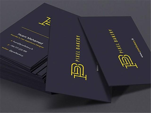 Custom 600gsm Cardboard Matte Business Cards Foil Ink Print Card