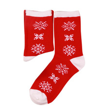 2017 Christmas Women And Men sokken Comfortable Cartoon printing Cotton Sock cute Short Ankle Sock YL