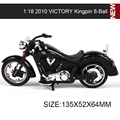 1:18 Velocidad Victory KingPin manera GSX-R1000 moto modelo 1:18 escala moto raza miniatura Juguete De Regalo Colección