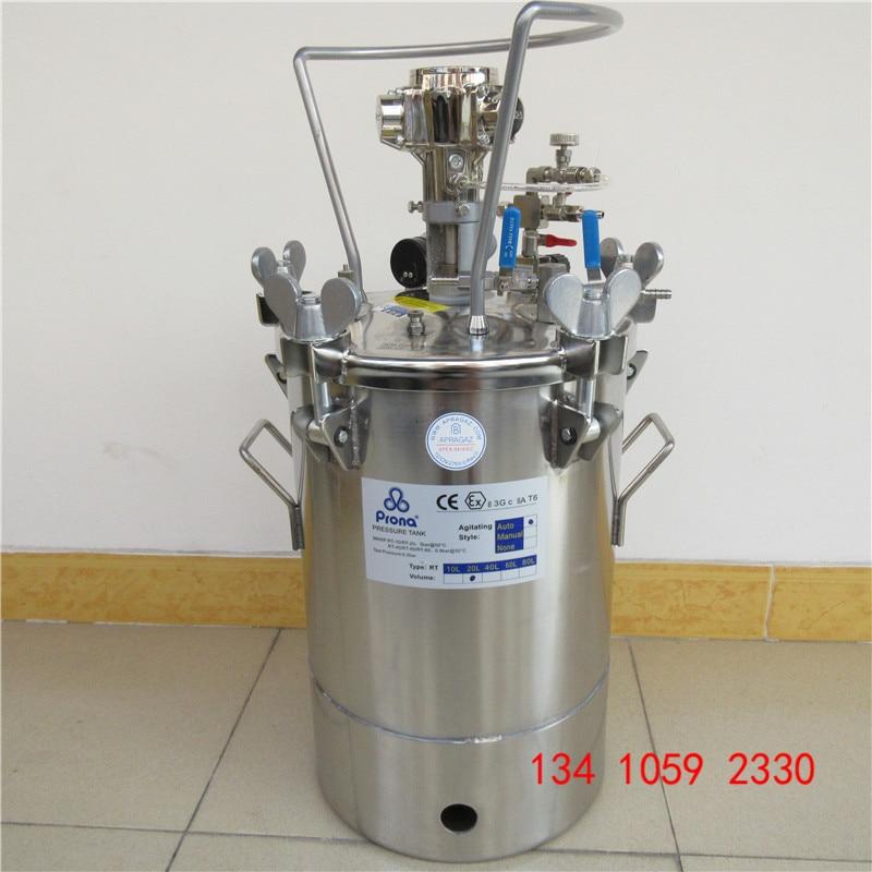 Prona automatinis maišytuvo dažų slėginis bakas RT-10AS, RT-20AS, - Elektriniai įrankiai - Nuotrauka 4