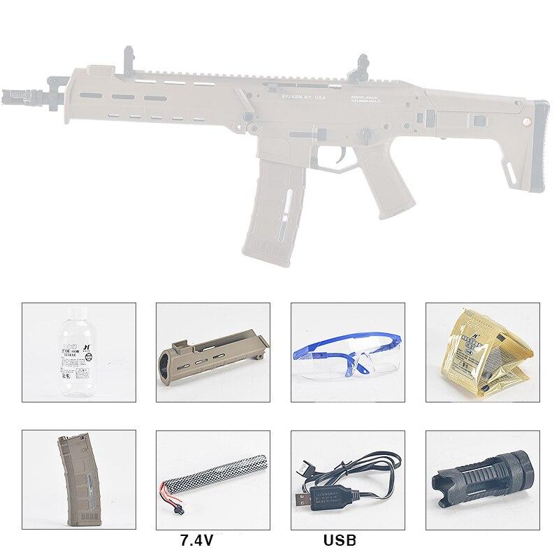 Jinming 10 génération ACR pistolet jouet Gel balle Blaster eau balle pour enfants Sports de plein air