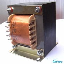Transformador de potência z11 do amplificador do tubo de 120 w aço de silicone recozido 250v 0 250v/100ma 6.3 v/2a ei transformadores de áudio de alta fidelidade