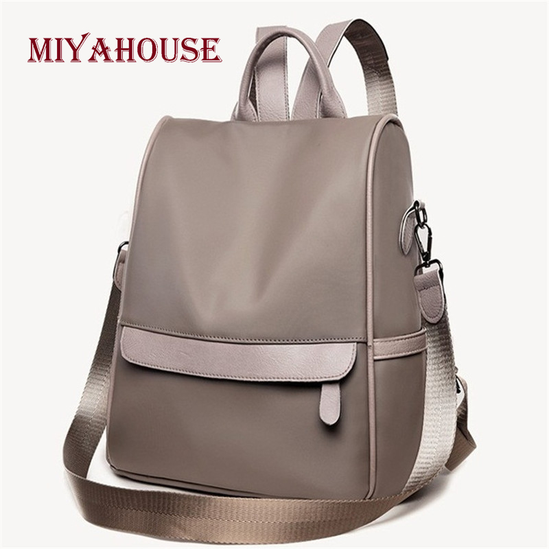 Miyahouse New Arrival Oxford Backpacks Women Tide Korean High Capacity Student School Bags Fashion Female Portable Travel Bag