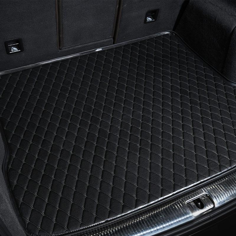 купить car rear trunk mat car boot mat cargo liner for toyota land cruiser lc 200 150 prado verso ez yaris l 2011-2018 по цене 4025.45 рублей