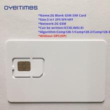 OYEITIMES 2G GSM SIM Card Blank Programmable ICCID IMSI PIN PUK ADM KI COMP128 Algorith Without OP/OPC