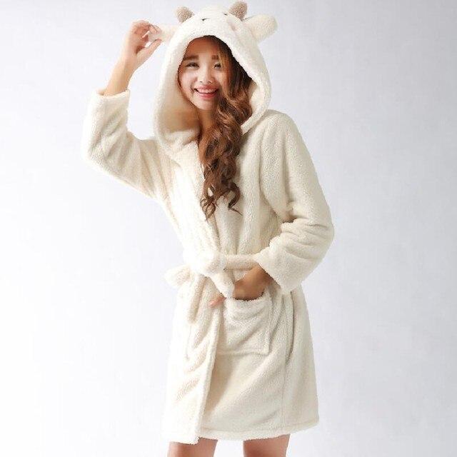 Online Shop New Plush Robe Adult Animal Bunny Panda Stitch Pajamas ...