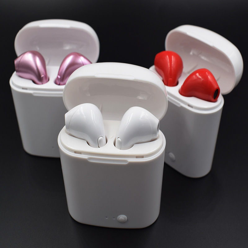 I7S TWS inalámbrico Bluetooth i9S i8S Auriculares Mini auricular con micrófono Auriculares Bluetooth auricular Bud fone de ouvido