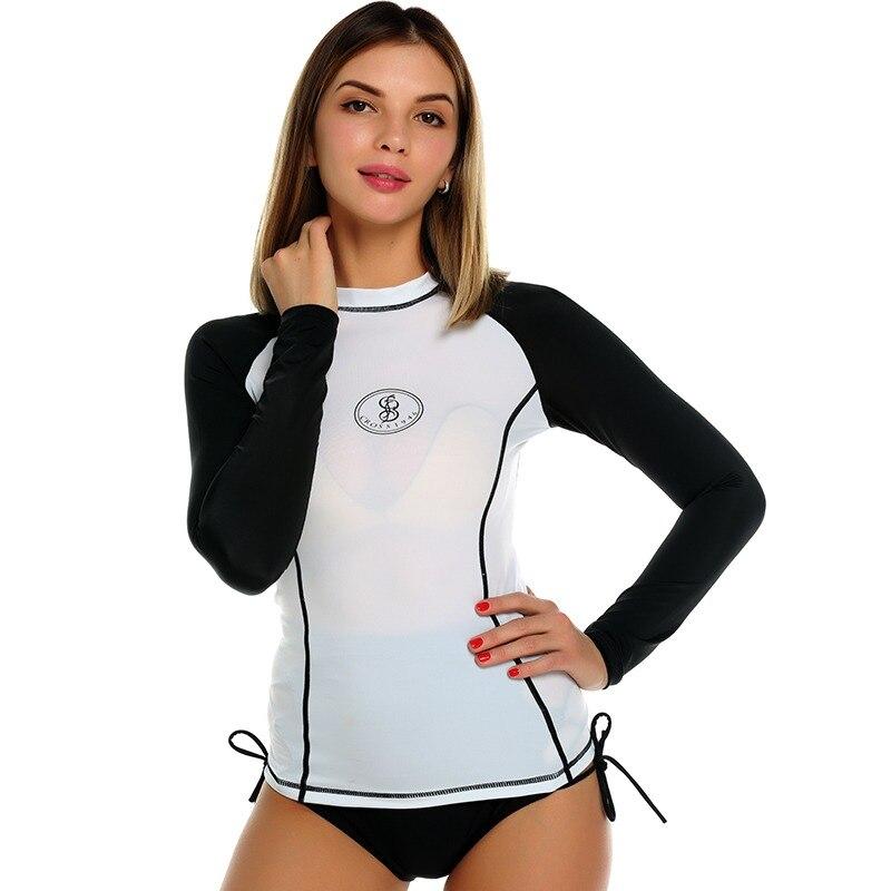 United Surfing Swimwears Diving Suit Swim Wear Beach Rash Guard Women Surf Plus Size Female Rashguard New Push Ups Sexy Swimwear Sports & Entertainment Sports Clothing
