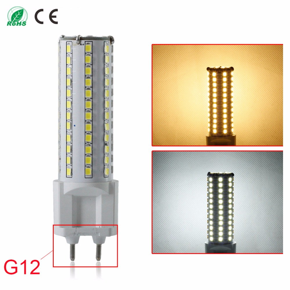 SMD2835 G12 LED Lamp Corn  360 Degree 12W Led Bulb 81Leds Chandelier Candle Lighting Home Decoration Warm/Cool White AC85-265V enwye e14 led candle energy crystal lamp saving lamp light bulb home lighting decoration led lamp 5w 7w 220v 230v 240v smd2835