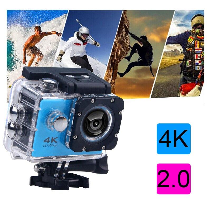 Nouveauté! Original Mountain dog F65 Ultra HD 4 K caméra d'action 30 m étanche 2.0 'écran 1080 p caméra sport go extreme pro cam