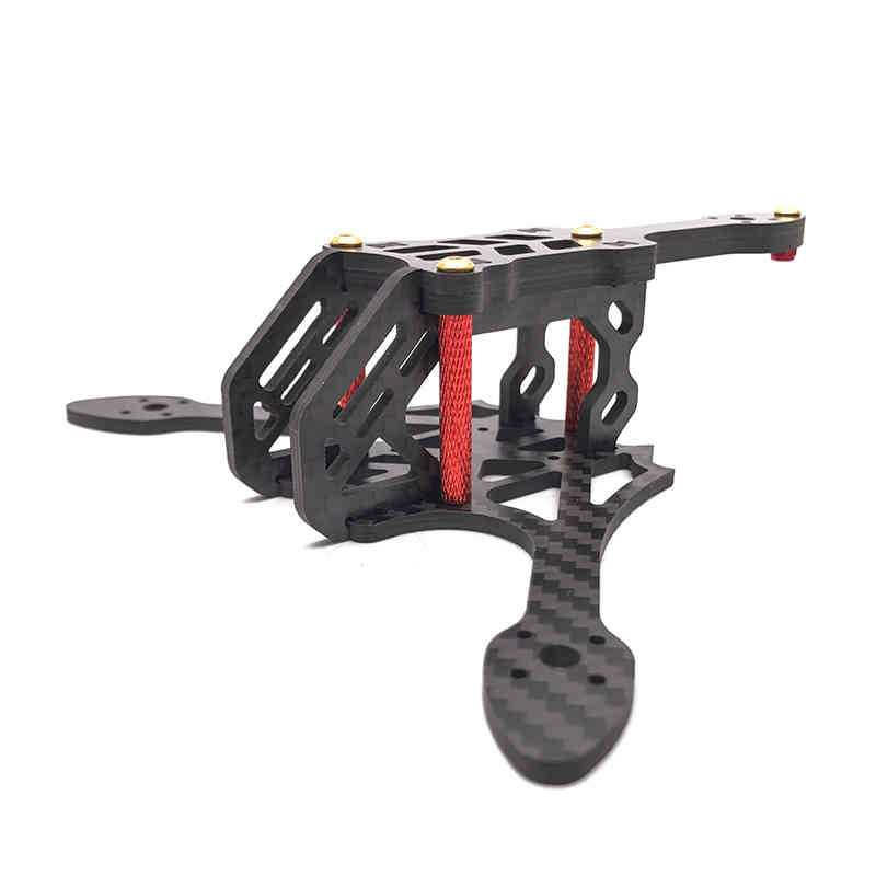 EXUAV Y120S 120mm Mini FPV Racing Frame Kit For Runcam Micro Swift Micro Sparrow Camera RC Model Motor ESC DIY Drone Part цена