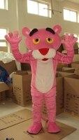 Розовая пантера Костюм талисмана Леопард фантазии карнавал талисман праздничный день куклы для взрослых Одежда Горячая персонажа из мульт
