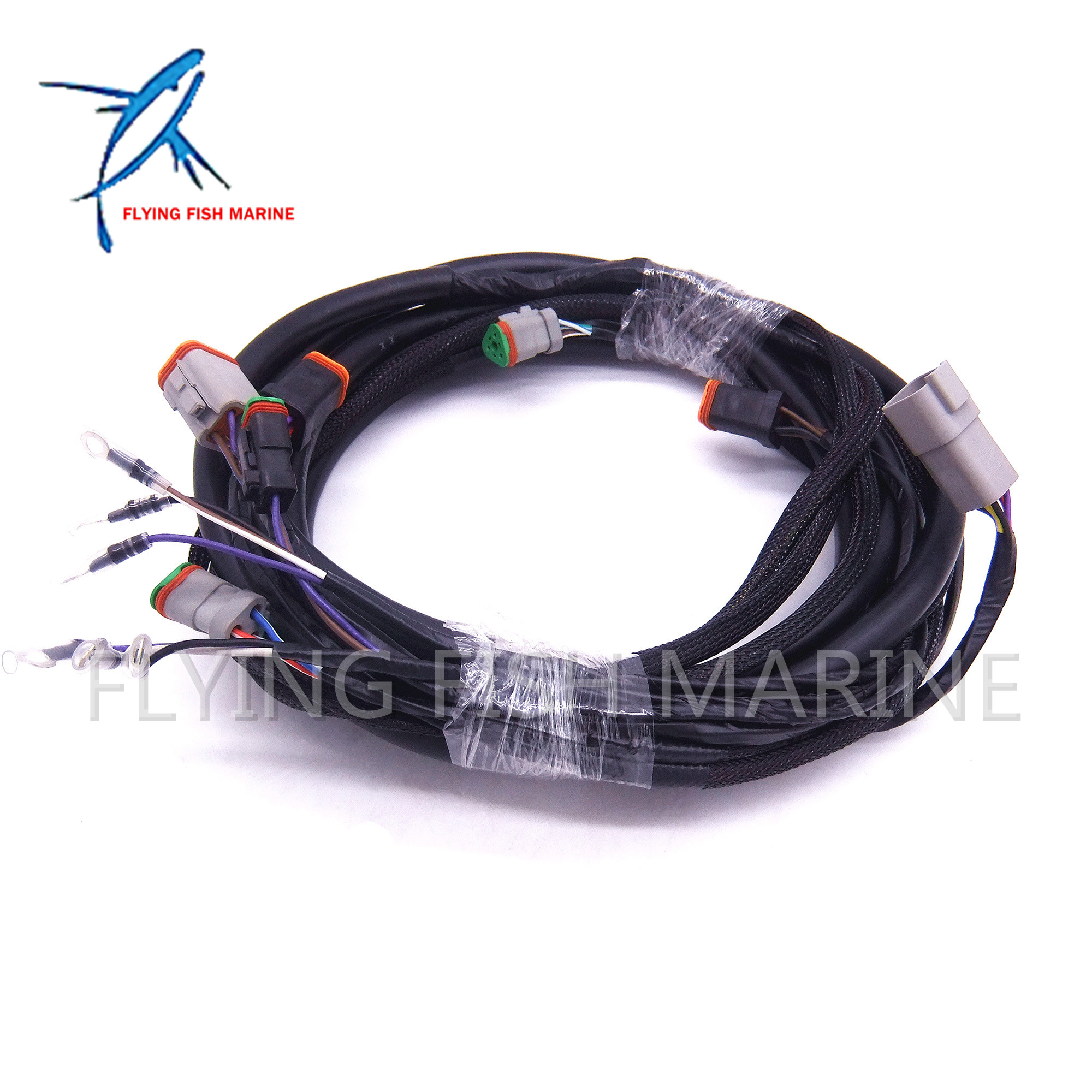 0176340 176340 new systemcheck 15ft main modular ignition wiring harness cable for evinrude johnson omc outboard [ 2000 x 2000 Pixel ]