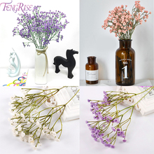 FENGRISE Gypsophila Artificial Flowers For Wedding Fake White Pink Purple Babys Breath Flower Birthday Party Decor Home