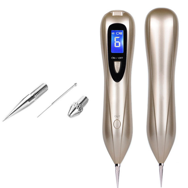 Newest Laser Plasma Pen Mole Removal Dark Spot Remover LCD Skin Care Point Pen Skin Wart Tag Tattoo Removal Tool Beauty Care 4