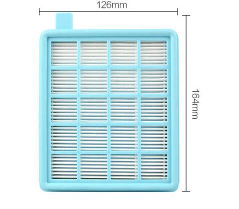 vacuum cleaner hepa filter FC8471FC8632FC8470FC8472 vacuum cleaner hepa filter gy308 gy309 gy406 gy 408 129x148mm
