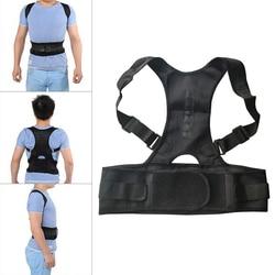Magnetic Posture Corrector Double Pull Strap Corrector Corset For Posture Bandage Spine Support Belt Back Posture Correction