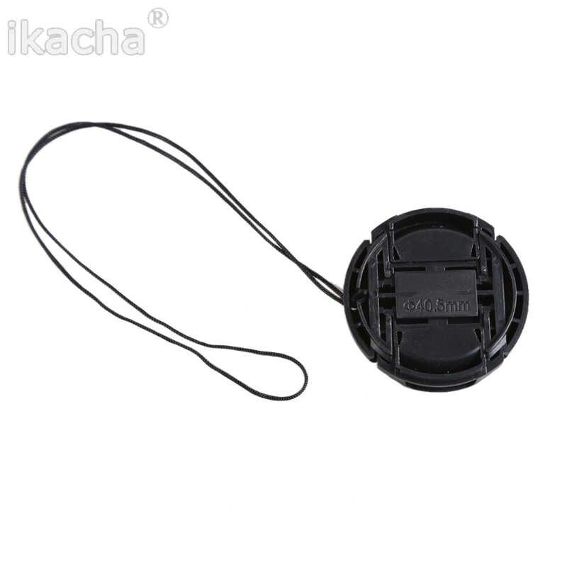 49 Mm 52 Mm 55 Mm 58 Mm 62 Mm 67 Mm 72 Mm 77 Mm 82 Mm Tudung Sarung tempatkan-On Depan Lensa Tutup untuk Lensa Kamera DSLR Sony Alfa Lensa Pelindung
