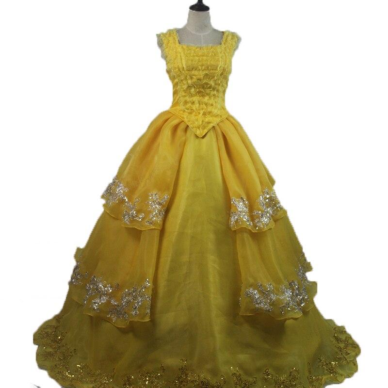 Yellow Belle Dress Cosplay